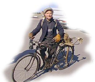 Vanhoja polkupyöriä